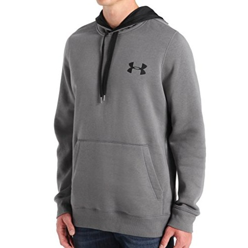 Under Armour Men's Rival Cotton Hoodie [Black (001), Large Tall]