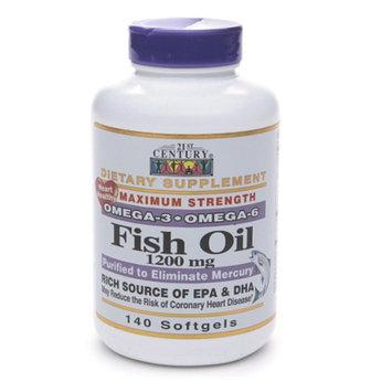 21st Century Fish Oil 1200mg