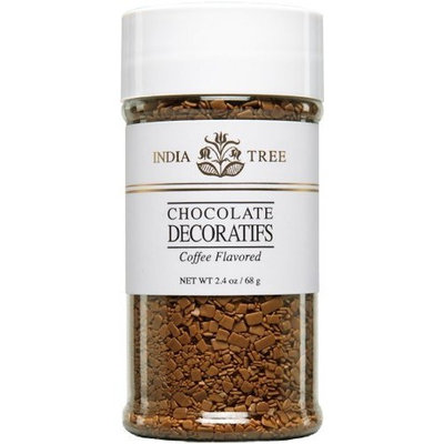 India Tree Coffee Flavored Decoratifs, Natural, 2.4 oz (Pack of 2)