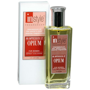 Instyle Fragrances An Impression Spray Cologne for WomenOpium
