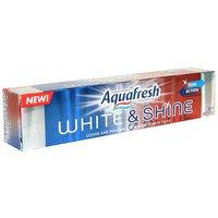 Aquafresh Fluoride Toothpaste, White & Shine, Berry Fresh, 6-Ounce Tubes