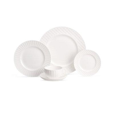 Wedgwood Dinnerware, Night and Day Round Platter, 13