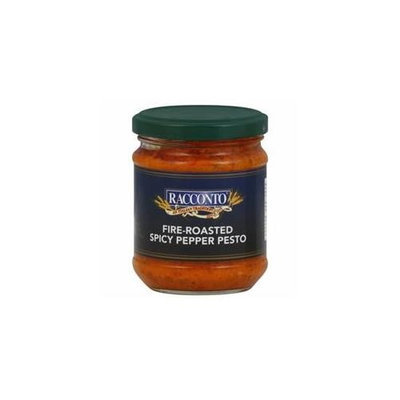 RACCONTO 68255 RACCONTO SAUCE PESTO FIRE RSTD RED - Pack of 6 - 6. 3 OZ