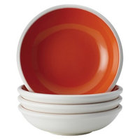 Rachael Ray Rise Fruit Bowl Set of 4 - Orange (7.5 oz.)