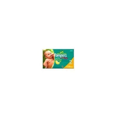 Pampers Baby Dry Diapers, Size 2, 42 Count (Pack of 2)