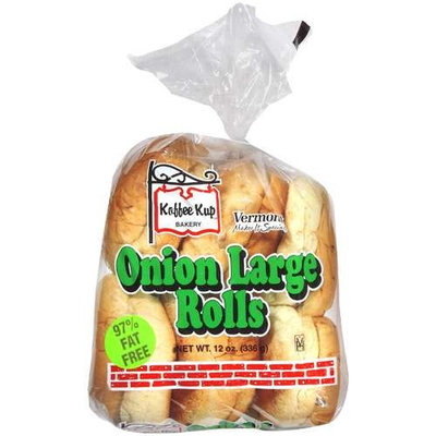 Koffee Kup Bakery: Onion Large Rolls, 12 Oz