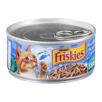 Purina Friskies Savory Shreds With Whitefish & Sardines in Sauce