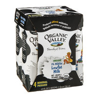 Organic Valley Milk Lowfat 1% Organic - 4 CT