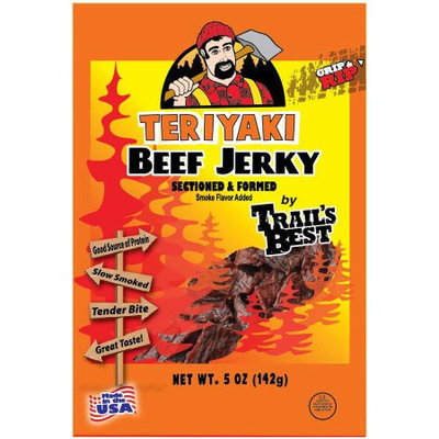 Generic Trail's Best Teriyaki Beef Jerky, 5 oz
