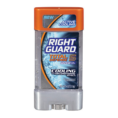 Right Guard Total Defense 5 Power Gel Cooling Antiperspirant & Deodorant