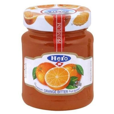United Natural Trading Co (Hershey Import) Hero Fruit Spread, Orange Bittr, 12-Ounce (Pack of 8)