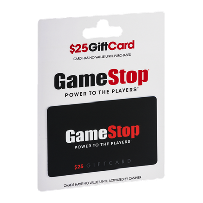 GameStop Power To The Players $25 Gift Card