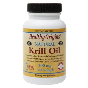 Healthy Origins Natural Krill Oil 500mg, Softgels