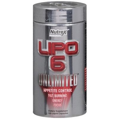 Lipo-6 Unlimited, Capsules