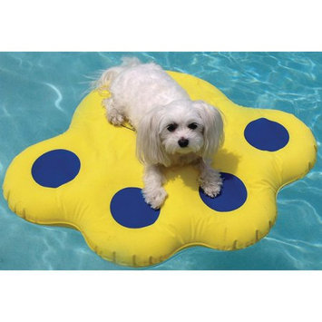 Paws Aboard Doggy Lazy Raft Yellow Small Yellow 25.5 x 29