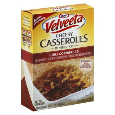 Velveeta Cheesy Casseroles Chili Cornbread 11.1 oz