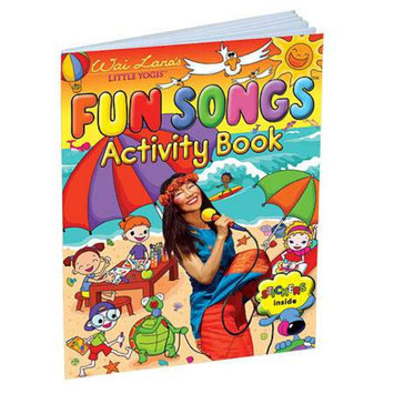 Wai Lana Little Yogis Fun Songs Activity Book