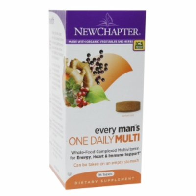 New Chapter every man's ONE DAILY MULTI, Tablets, 96 ea