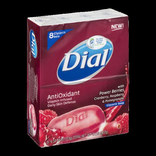 Dial® AntiOxidant Glycerin Soap Bars