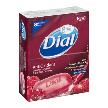 Dial® AntiOxidant Glycerin Soap Bars