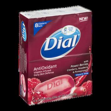 Dial AntiOxidant Glycerin Soap Bars - 8 CT