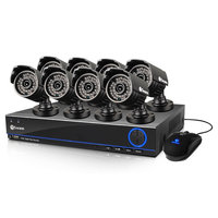 David Shaw Silverware Na Ltd Swann SWDVK-832008S-US 8 Channel 960H DVR with 8 PRO-642 Cameras