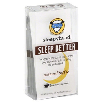 Sleepyhead 2.8 oz. Caramel Toffee Sleep Aid - Case Of 3