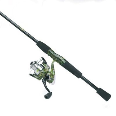 Evercast® Fishouflage™ 2-Pc. Rod and Reel