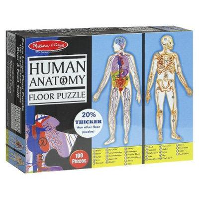Melissa & Doug Floor Puzzle - Human Body