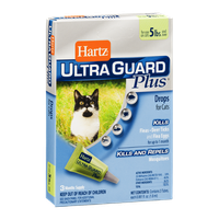 Hartz Ultra Guard Plus Drops for Cats 5lbs - 3 CT