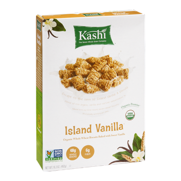 Kashi 7 Island Vanilla Whole Wheat Biscuit Cereal