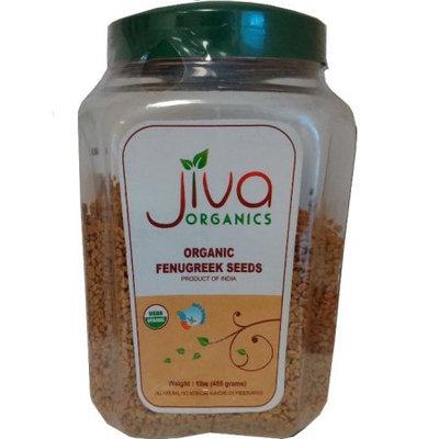 Jiva Organic Fenugreek (Methi) Seeds 1-Pound Jar