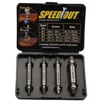 Speed Out Damaged Screw Extractor, 1 ea