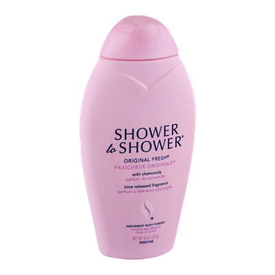 Shower to Shower Absorbent Body Powder Original Fresh with Chamomile