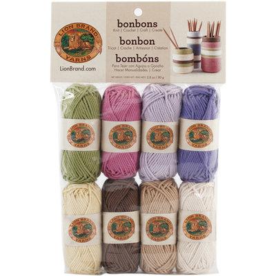 Lion Brand Bonbons Yarn 8/Pkg Nature