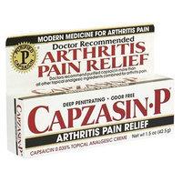 Capzasin-P Topical Analgesic Cream, .035-Percent Capsaicin, 1.5-Ounce Tubes (Pack of 3)
