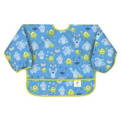 Bumkins Disney Baby Monsters, Inc Waterproof Sleeved Baby Bib - Blue
