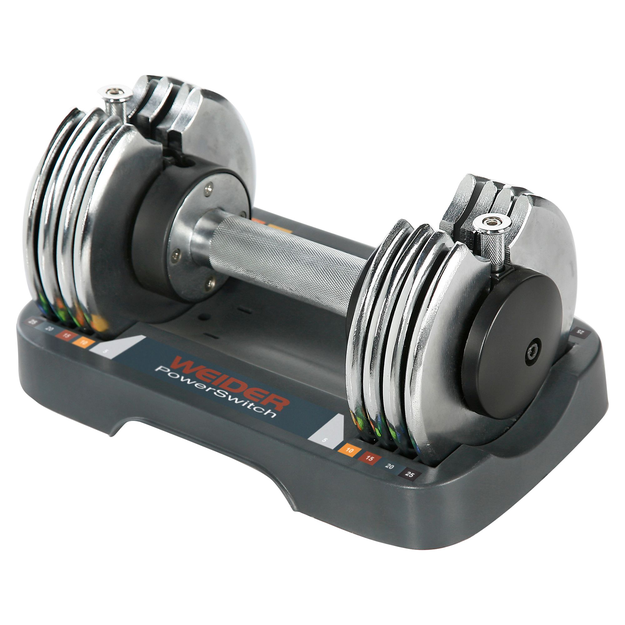Weider 25 lb. Speed Weight Adjustable Dumbbell