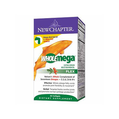 New Chapter Wholemega Flex Fish Oil