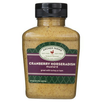 Archer Farms Cranberry Horseradish Mustard - 9.4 oz. Squeeze Bottle