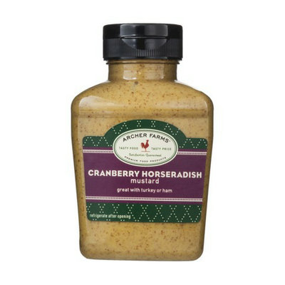 Archer Farms Cranberry Horseradish Mustard - 9.4 oz. Squeeze Bottle