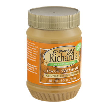Crazy Richard's 100% Natural Chunky Peanut Butter