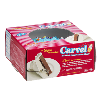 Carvel Ice Cream Cake Lil' Love