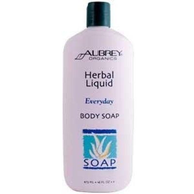 Aubrey Organics Herbal Liquid Body Soap
