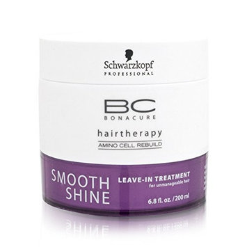 Schwarzkopf Bonacure Smooth Shine Leave-In Treatment For Manageable Hair (6.8 oz.)