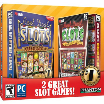 Encore Software Reel Deal Slots Cleopatra and Far East Jewel Case, 2-Pack