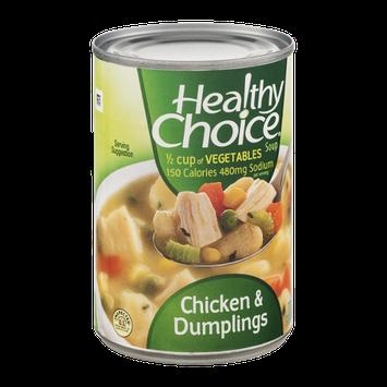 Healthy Choice Soup Chicken & Dumplings