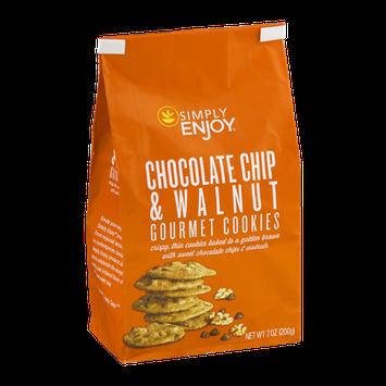 Simply Enjoy White Chocolate Chip & Walnut Gourmet Cookies