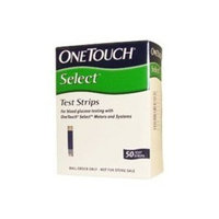 LifeScan One touch select 50 test strips