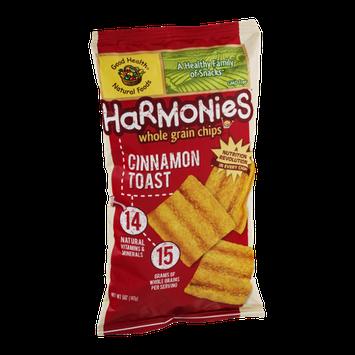 Harmonies Whole Grain Chips Cinnamon Toast